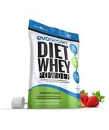 EvoSport Diet Whey Protein with CLA, Acai Berry & Green Tea 1kg Strawberry - $25.99