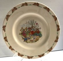 Bunnykins 1936 Royal Doulton Plate, with Signature, Great for Easter ! - $29.99