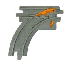 1 Fisher Price Geo Trax Courbe Interrupteur Piste Route Plastique Rechan... - $7.76