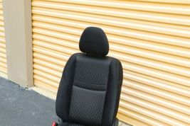 17-18 Nissan Rogue Front Left Driver Manual Seat - Black image 4