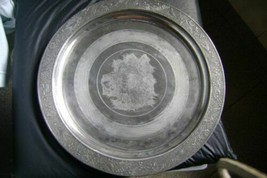 antique cake plate Scottish Terrier Dog Reed and Barton Fala? Miss Beazl(Canada) - $61.87