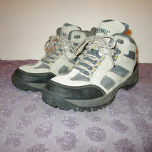 DENALI CLEARWATER Size 8.5 HIKING Boots LEATHER Waterproof BREATHABLE To... - $28.63