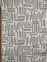 1/2 yd Music/clarinet woodwind instruments on ivory quilt fabric -free shipping image 3