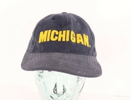 Vintage 90s American Needle Michigan Wolverines Spell Out Floppy Brim Da... - $29.65