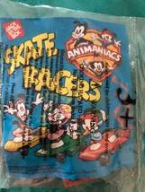 1996 Jack in The Box Bambini Pasto Animaniacs Skate Piloti Toy Raro Mip Nip - $9.88