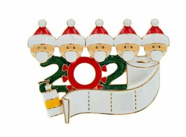 Stunning Gold Plated Limited Edition Lockdown Christmas 2020 Brooch Pin ... - $18.45