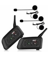 Ejeas V6 Pro 2x Écouteurs Intercom Moto Bluetooth pour Motos - $369.43