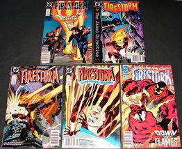 5 1989-90 DC FIRESTORM 84F, 86VG, 87F, 88F, 100VG Comics Books JANUS DIR... - $13.99
