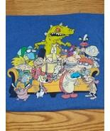 Nickelodeon Vintage Cartoons Medley 90s Characters Retro Tee Shirt 3XL - $20.79
