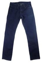 Levi's 511 Mens Jeans Size 31 x 32 (Actual 29x30) Dark Wash Skinny Leg S... - $311,51 MXN