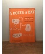 A Dozen A Day, Book Two By Edna-Mae Burnam PB, 1953 - $10.88