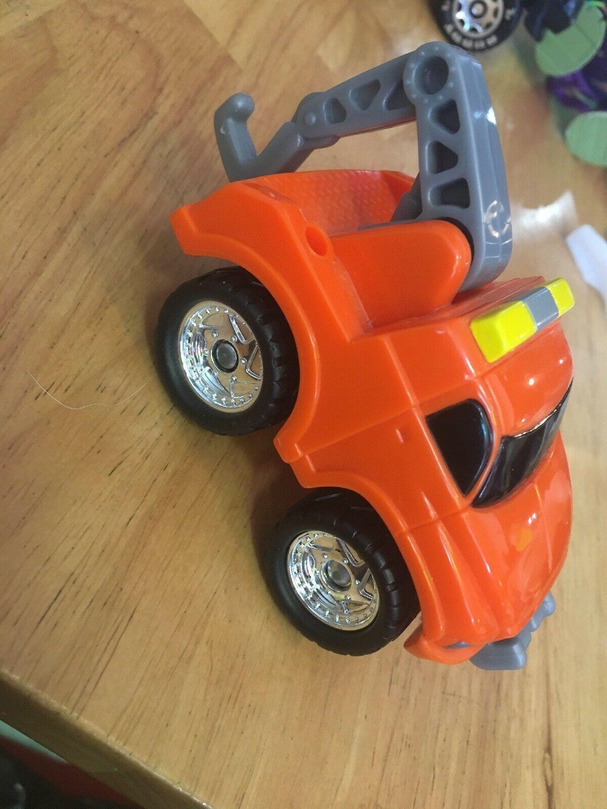 Fisher Price FP Toys 1995 Orange Tow Truck