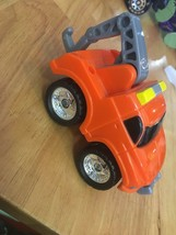 Fisher Price FP Toys 1995 Orange Tow Truck - $12.60