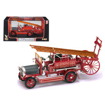 1921 Dennis N Type Fire Engine Red 1/43 Diecast Car Model by Road Signat... - $28.71