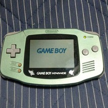 Nintendo Game Boy Advance Celebi Green with 1 soft Video Game From Japan - $98.01