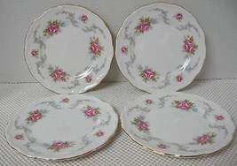 Lot Of 4 Royal Albert Tranquillity Bread & Butter Side Plates China England - $24.73