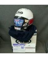 Arai full face helmet SZ-Ram4 stripe M size white color new - $681.99