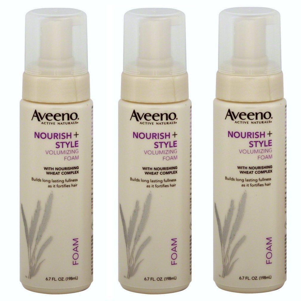 Three 3 Aveeno Nourish Style Volumizing And Similar Items
