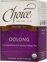 Choice Organic Teas Oolong (6x16 Bag) - $36.54