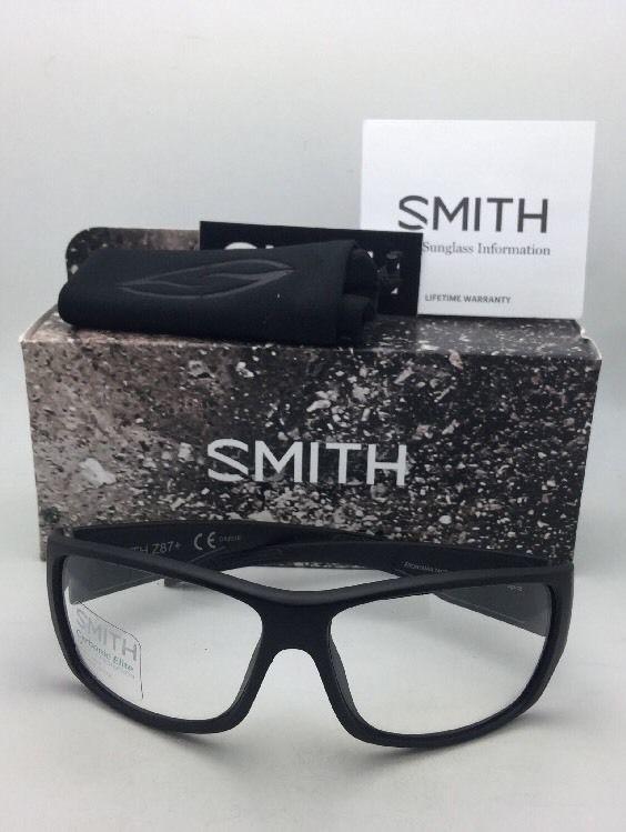 a24d34e357a27 New SMITH OPTICS Sunglasses FRONTMAN TACTICAL ELITE Black w  ANSI Z87.1  Clear