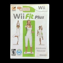 Wii Fit Plus (WII, 2009) Game with Case and Manual - $7.50