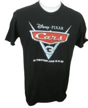 Disney Pixar Cars 3 promo T Shirt 2017 sz L Next Level black cotton 22 p... - $9.79