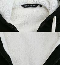 Men's Heavyweight Thermal Zip Up Hoodie Warm Sherpa Lined Sweater Jacket image 4