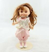 """Vintage 1986 Playskool Sweetie Pop 5""""Doll Hong Kong Kneeling Figure Outf... - $14.99"""