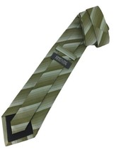 "New KENNETH COLE REACTION Silk TIE Green Designer 58"" - $13.95"