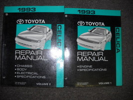 1993 Toyota Celica Service Repair Shop Manual Set OEM Engine Chassis Bod... - $89.09