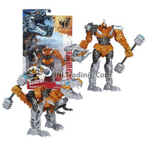 "Year 2014 Hasbro Transformers Age of Extinction Power Attacker 5.5"" GRIM... - $39.79 CAD"