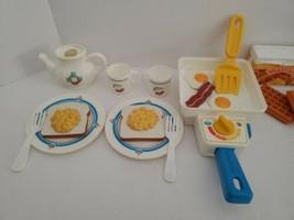 Vintage Fisher Price Fun with Food- Super Skillet Breakfast #2115  Works... - $99.00
