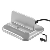 Magnetic Charge Base Type C Micro Charging Station Holder for iPhone Sam... - $41.35