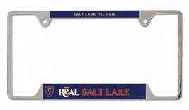 Salt Lake Real Metal License Plate Frame - $15.54