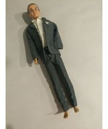 Vintage Flocked Hair Ken Doll 1961 In Saturday Date #786. - $29.70
