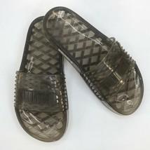 Puma Fenty Black Jelly Pool Slides / Sandals sz 6.5 - $47.30