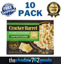 Cracker Barrel Macaroni & Cheese Dinner Sharp White Cheddar 14 Oz Box 10... - $53.70