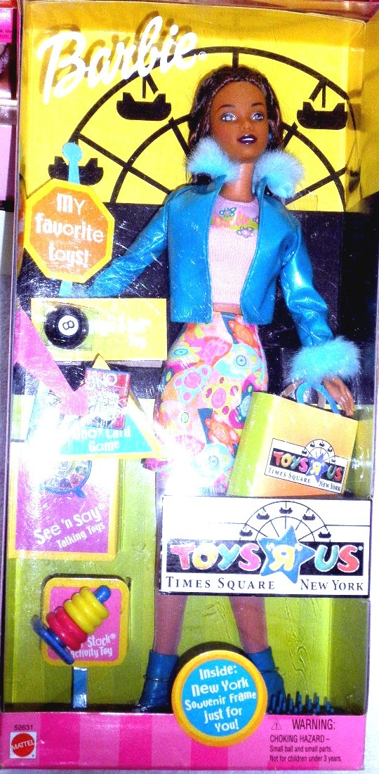 """Barbie Doll  - Toys 'R"""" Us Times Square Barbie,  New York (AA) image 3"""
