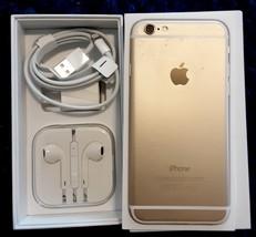 iPhone 6, Gold - Model A1586 16 GB Sprint  + Apple  Ear Buds - $200.00