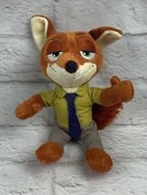 "Disney Zootopia Nick Wilde Fox 7"" Tomy Plush Stuffed Animal Toy - $8.56"