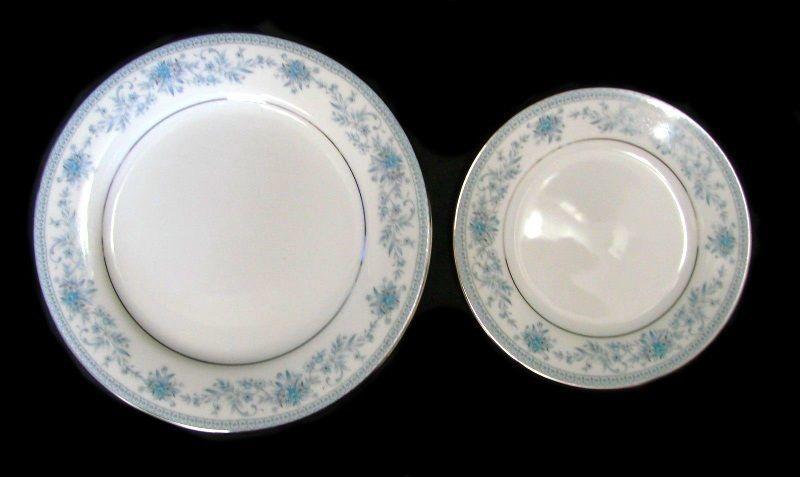 """Noritake Azalea early red mark 6 1//2/"""" bread plate EX unused 6 available"""