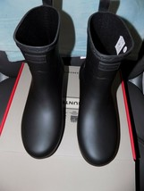 Hunter Boots Refined Low Heel Casual Pull-On Ankle Heels Rubber Size 9 Women's - $145.20
