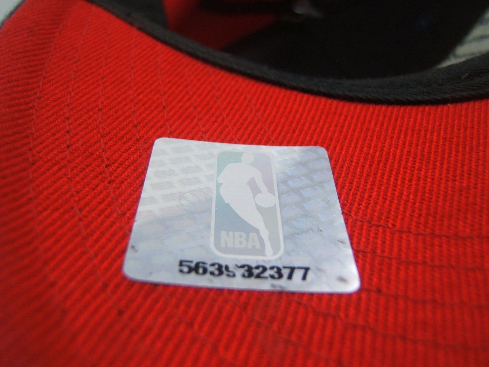 Houston Rockets Nike Hat Red Blue NBA Basketball 7 1/8 - 7 3/8 Fitted Cap