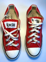 Converse US M3.5/W5.5 | UK3.5 | EU36 Classic Used All Star Red Collectio... - $12.62