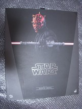 Hot Toys Movie Masterpiece 1/6 Scale Figure Star Wars Phantom Menace Dar... - $442.53