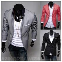 2018 Hot Sale Custom Made 3 Color Tailcoat Men Suit Set Slim Wedding Sui... - $40.08