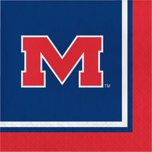 Univ of Mississippi 2 Ply Lunch Napkins/Case of 240 - $43.53