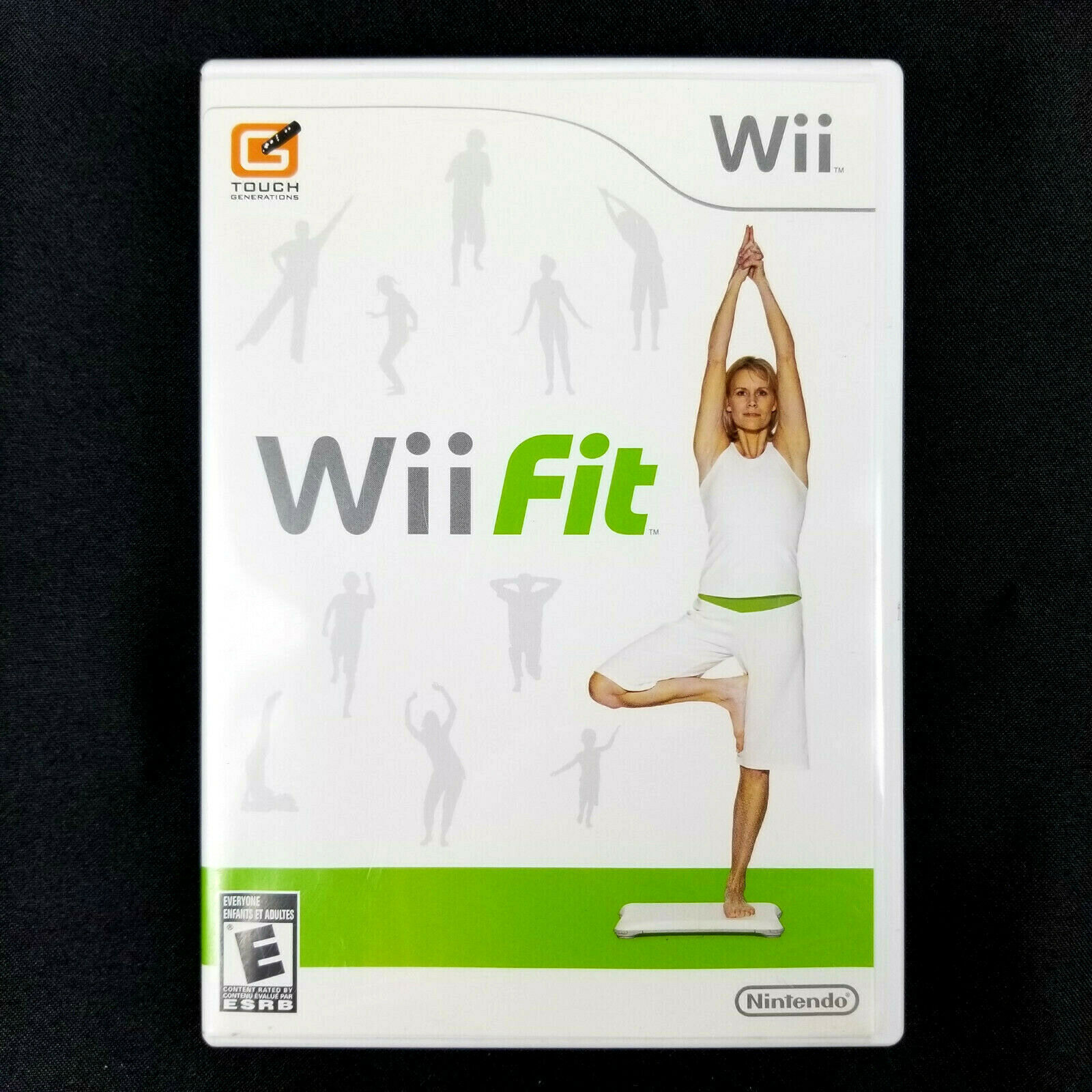 Primary image for Wii Fit Nintendo Wii, 2008 - English French Spanish - w/ Instruction Booklet