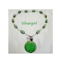 Green Turquoise Dyed Howlite Beaded Necklaces - $24.95