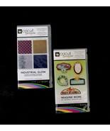 Provocraft Cricut Imagine Set Of 2 Art Cartridges Industrial Glow Imagin... - $20.56